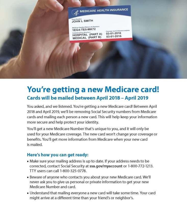 2018 NH Medicare Supplement News- Medicare to Issue 60 Million New ...